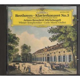 Beethoven / A. B. Michelangeli CD Klavierkonzert Nos. 3 Nuovo 0028942323025