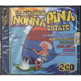 AA.VV. 2 CD Le Canzoncine Di Nonna Pina Estate Nuovo Sigillato 4029758829820