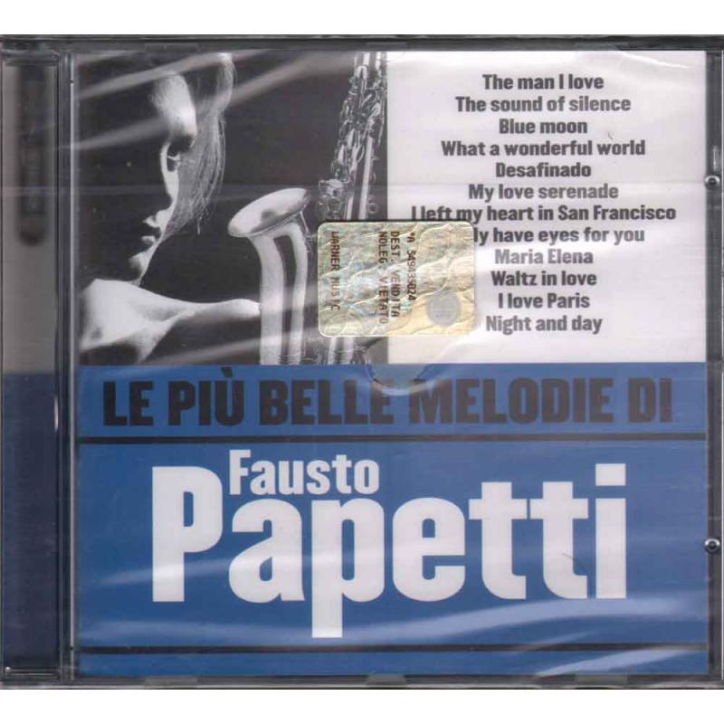 Fausto Papetti CD Le Piu' Belle Melodie Di Sigillato 5051011463228