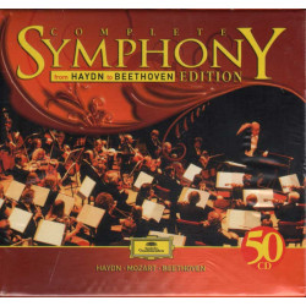 Haydn / Mozart / Beethoven Cofanetto 50 CD Complete Symphony Nuovo Sigillato