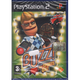 Buzz The Sport Quiz SOLO Gioco NO Pulsanti Playstation 2 PS2 Sony Sigillato