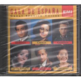 Gala De Espana CD Great Spanish Voices  EMI Classics CDM 7 64359 2 Sigillato
