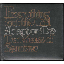 Everything But The Girl CD Adapt Or Die Ten Years Of Remixes / EMI Sigillato