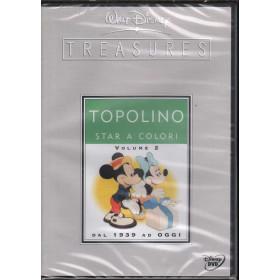 Walt Disney Treasures DVD Topolino Star A Colori Vol 2 Dal 1939 Oggi Sigillato