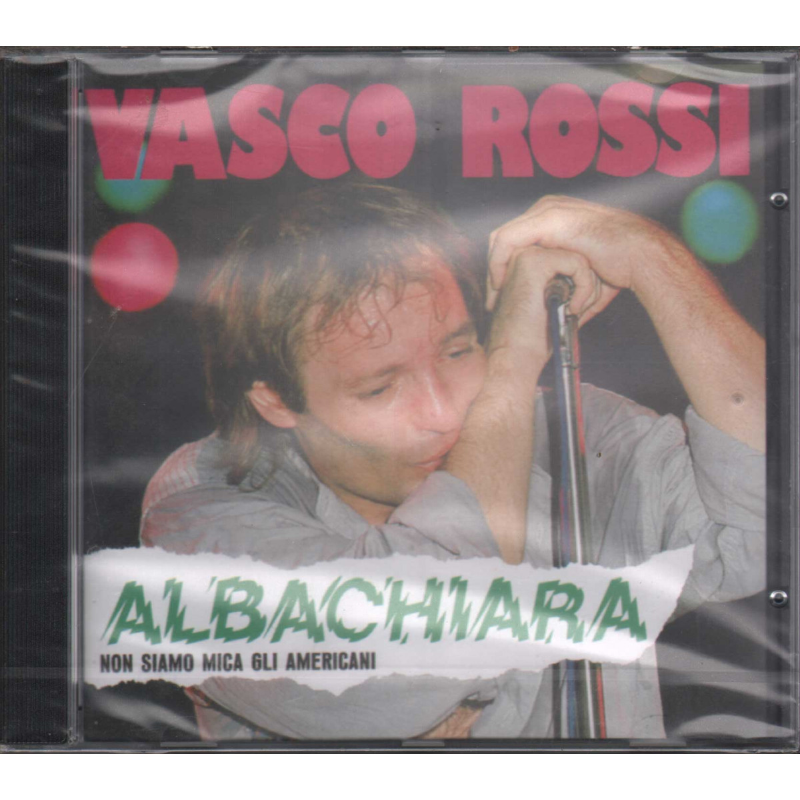 Vasco Rossi CD Albachiara Non Siamo Mica Gli Americani BMG 7432158426 Sigillato