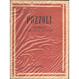 Pozzoli Solfeggi Parlati E Cantati III Corso / Ricordi E.R. 1154 Nuovo