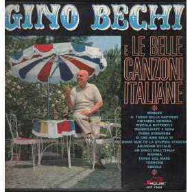 Gino Bechi Lp Vinile Gino Bechi E Le Belle Canzoni Italiane / Jaguar Nuovo