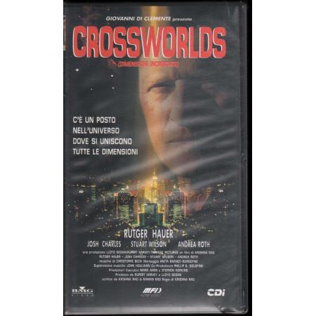 Crossworlds - Dimensioni Incrociate VHS Rutger Hauer / Josh Charles Sigillato