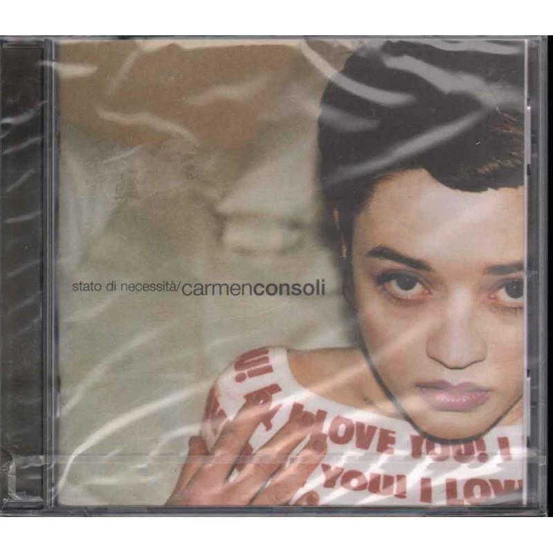 Carmen Consoli CD Stato Di Necessita' / Polydor – 543 584-2 Sigillato