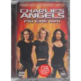Charlie'S Angels Piu' Che Mai DVD C Diaz D Moore Lucy L Luke Crystal Sigillato