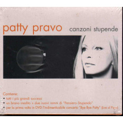 Patty Pravo 2 CD DVD Canzoni Stupende Slipcase / Epic ‎EPC 520261 3  Sigillato