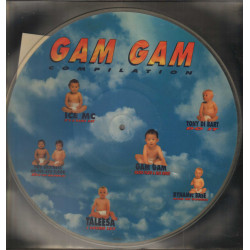 "AAVV ‎‎Vinile 12"" Picture Disc Gam Gam Compilation /  Volumex ‎PD/VOL 001 Nuovo"