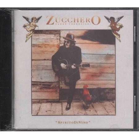 Zucchero Sugar Fornaciari CD SpiritoDiVino (Spirito Di Vino) Polydor Sigillato