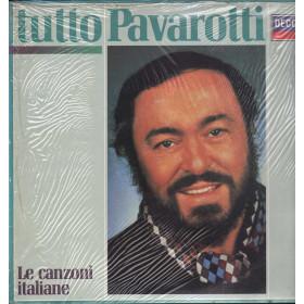 Luciano Pavarotti Lp Vinile Tutto Pavarotti Le Canzoni Italiane Decca Nuovo