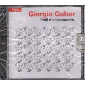 Giorgio Gaber DOPPIO CD Polli d'allevamento Nuovo Sigillato
