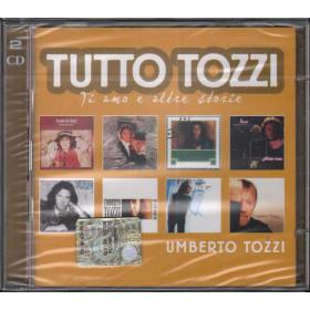 Umberto Tozzi 2 CD Tutto Tozzi (Ti Amo E Altre Storie) Warner Sigillato