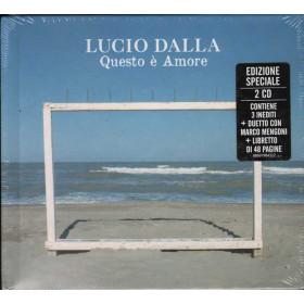 Lucio Dalla 2 CD Questo E' Amore Ed. Speciale / Sony 88697984322 Sigillato