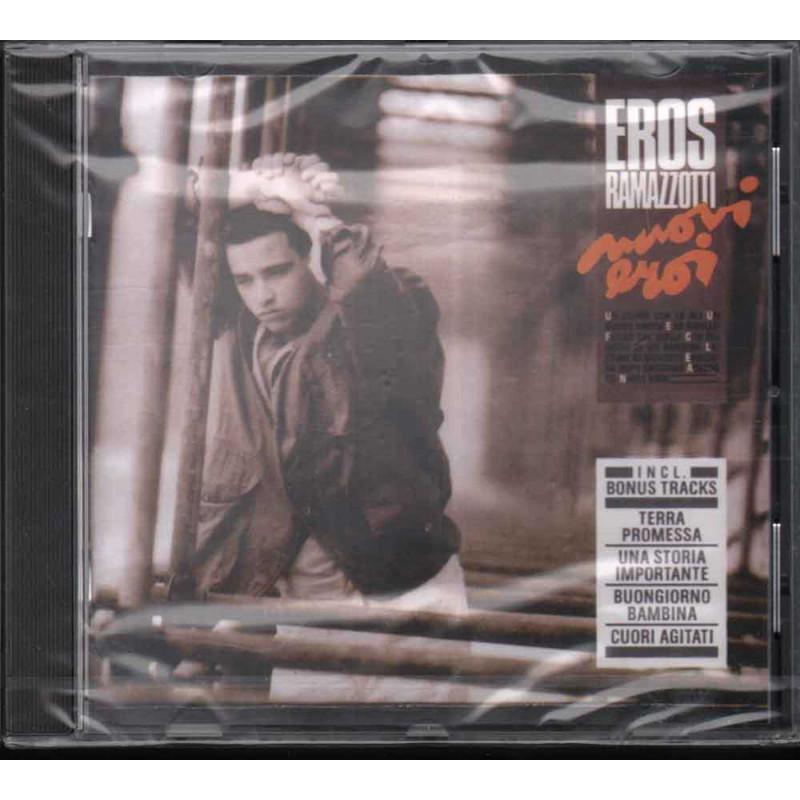 Eros Ramazzotti CD Nuovi Eroi / DDD ZD 74501 Sigillato