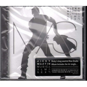 Ricky Martin CD Musica + Alma + Sexo / Sony Music Latin 88697544722 Sigillato