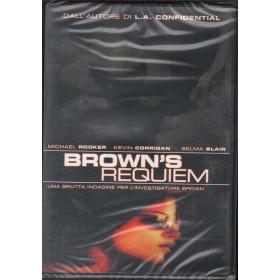 Brown's Requiem DVD Barry Newman / Brad Dourif / Kevin Corrigan Sigillato