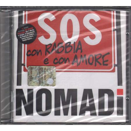 Nomadi CD SOS Con Rabbia E Con Amore / CGD East West 3984-29171-2 Sigillato