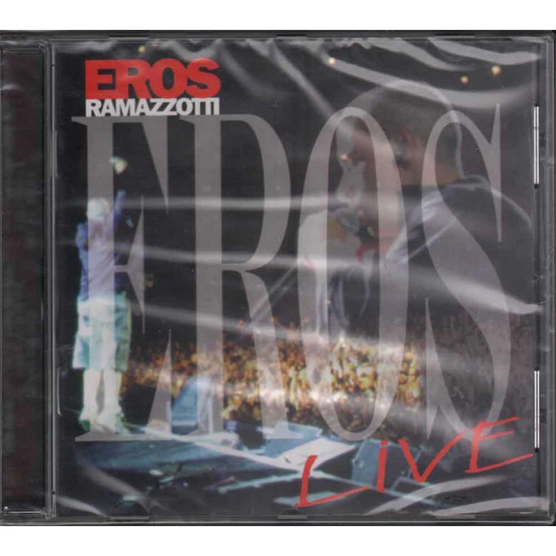Eros Ramazzotti CD Eros Live / DDD 74321623782 Sigillato