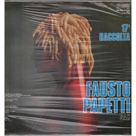 Fausto Papetti Lp Vinile 17 Raccolta / Durium ms AI 77335 Sigillato