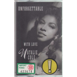 Natalie Cole MC7 Unforgettable With Love / Elektra ‎Sigillata