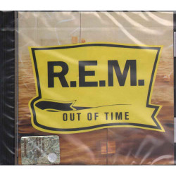 R.E.M. CD Out Of Time Nuovo Sigillato 0075992649629