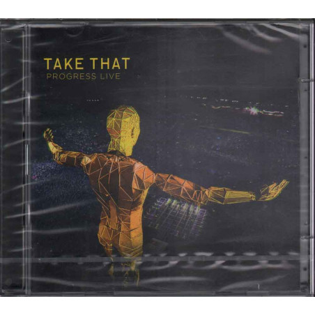 Take That 2 CD Progress Live / Polydor ‎Sigillato 0602527900131