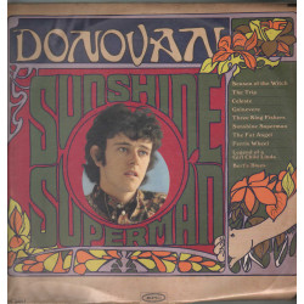 Donovan Lp Vinile Sunshine Superman / Epic LN 24217 BN 26217 Nuovo