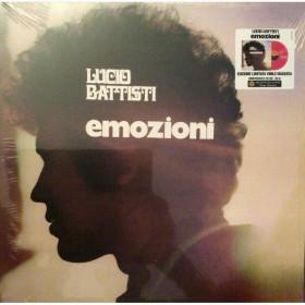 Lucio Battisti Lp Vinile Emozioni Limited Edition Numbered Rosso Sigillato