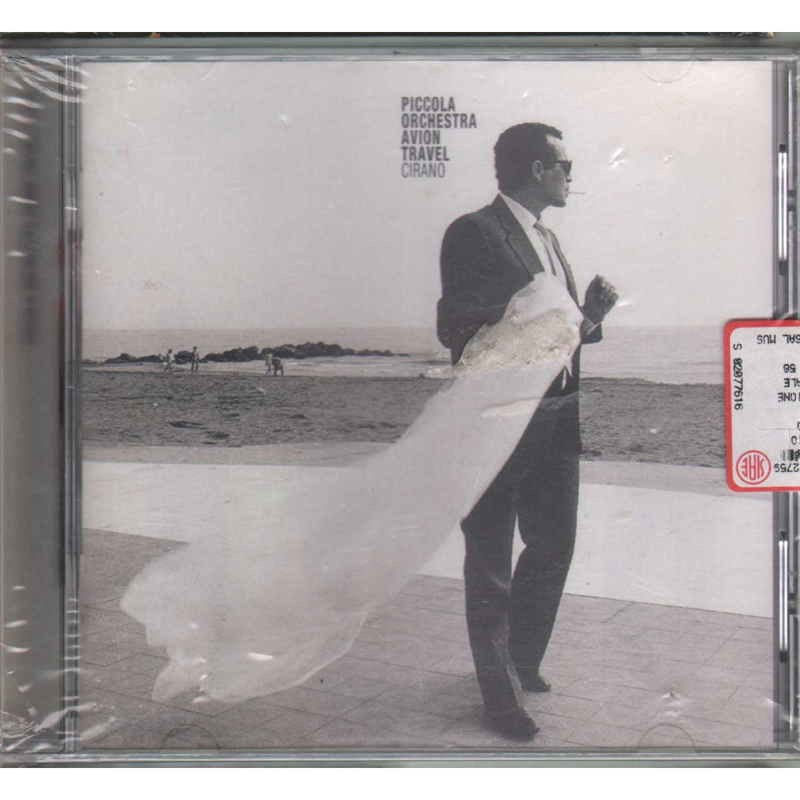 Piccola Orchestra Avion Travel CD Cirano / Sugar SGRD 77824 Sigillato