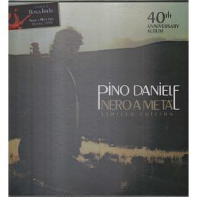 Pino Daniele Lp Vinile Nero A Meta' 40th Anniversary / Universal Sigillato