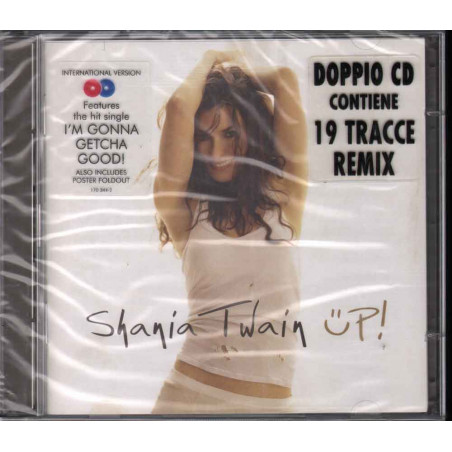 Shania Twain 2 CD Up! (International Version) Sigillato 0008817034423