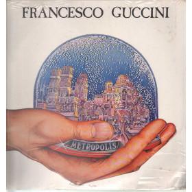 Francesco Guccini Lp Vinile Metropolis / EMI ITALIANA  661185461 Sigillato