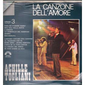 Achille Togliani Lp Vinile La Canzone Dell`Amore Volume 3 Cinevox Sigillato