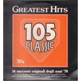 AAVV Lp Vinile Greatest Hits 105 Classic 70's EMI Italiana 64 7969011 Sigillato