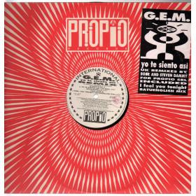 """G.E.M. Vinile 12"""" Yo Te..."""