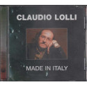 Claudio Lolli CD Made in Italy Nuovo NON Sigillato