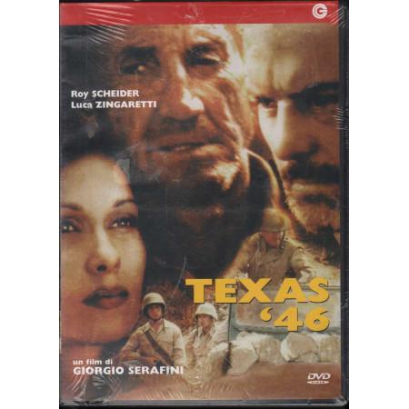 Texas '46 DVD Roy Scheider / Luca Zingaretti Cecchi Gori Sigillato 8017229438035