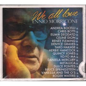 Ennio Morricone - CD We All Love Ennio Morricone Digipack Sig.0886971294927