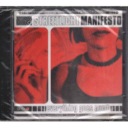 Streetlight Manifesto CD Everything Goes Numb Nuovo Sigillato 0746105020924