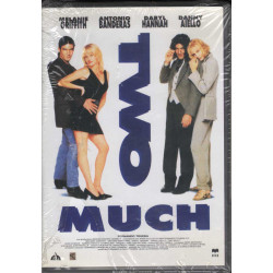 Two Much - Uno Di Troppo DVD Antonio Banderas / Melanie Griffith CVC Sigillato 8024607003143