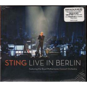 Sting CD DVD Live In Berlin - Digisleeve Nuovo Sigillato 0602527530970