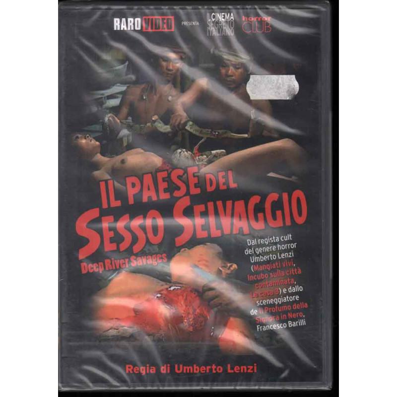 Il Paese Del Sesso Selvaggio DVD Umberto Lenzi Sigillato 8032706212212