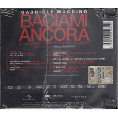 AA.VV. CD Baciami Ancora OST Soundtrack Sigillato 0600753252710