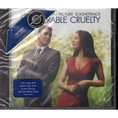 AA.VV. CD Intolerable Cruelty OST Soundtrack Sigillato 0602498610190