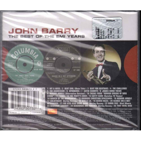 John Barry CD The Best Of Emi Years Sigillato 0724352307326