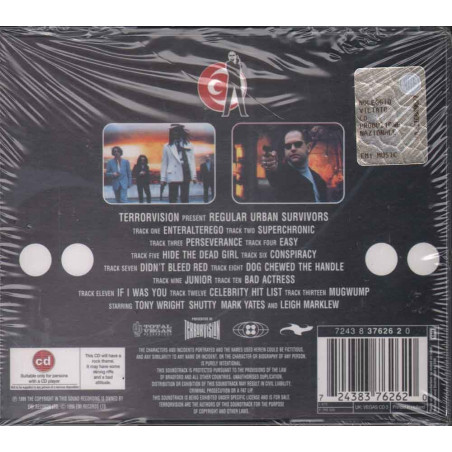 Terrorvision CD Regular Urban Survivors OST Soundtrack Sigillato 0724383762620